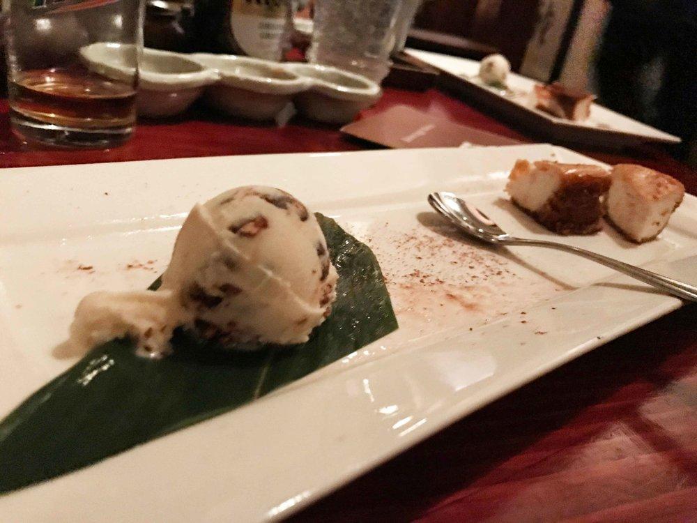 Chef's choice of dessert.
