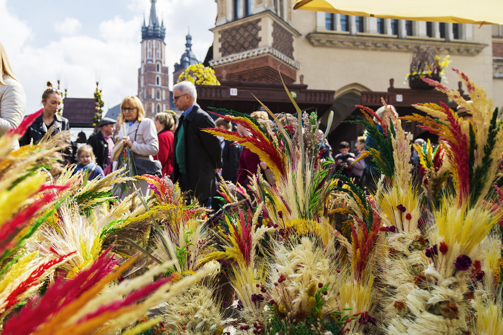 Palm Sunday in Kraków