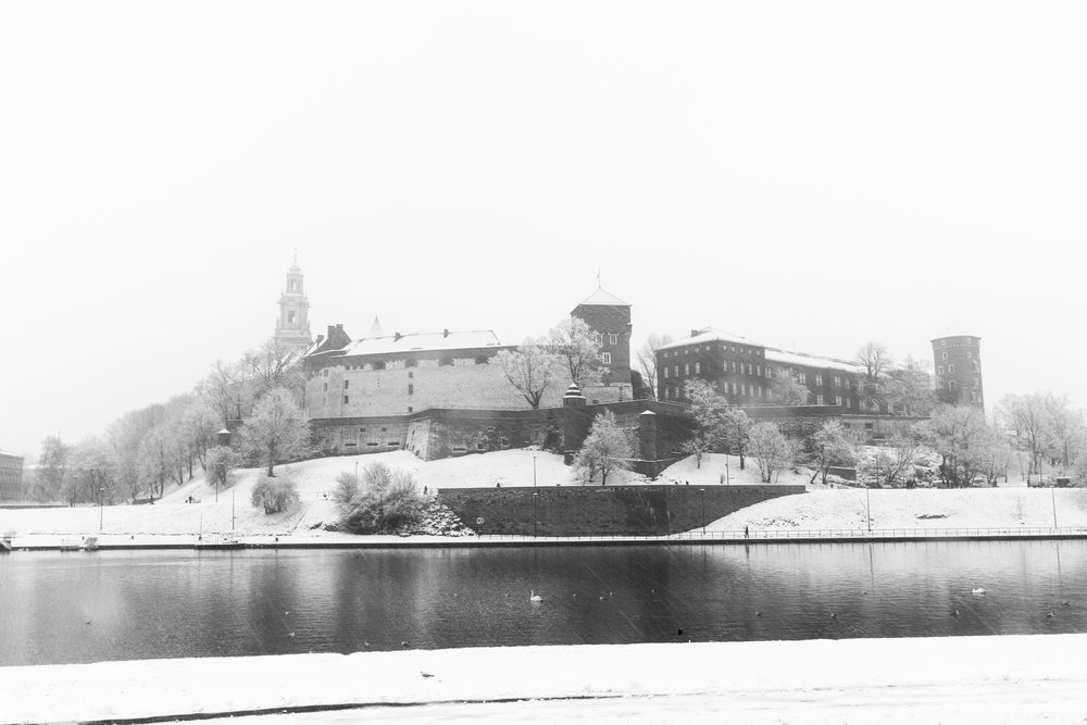 Winter in Krakow