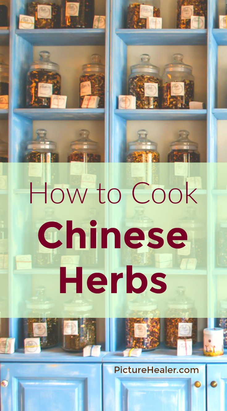 how to cook Chinese herbs