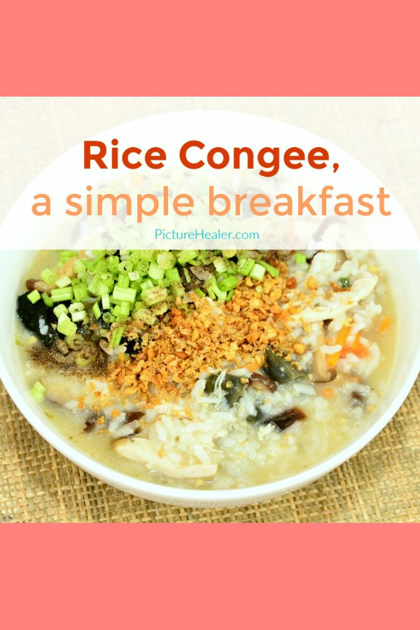 rice congee simple breakfast
