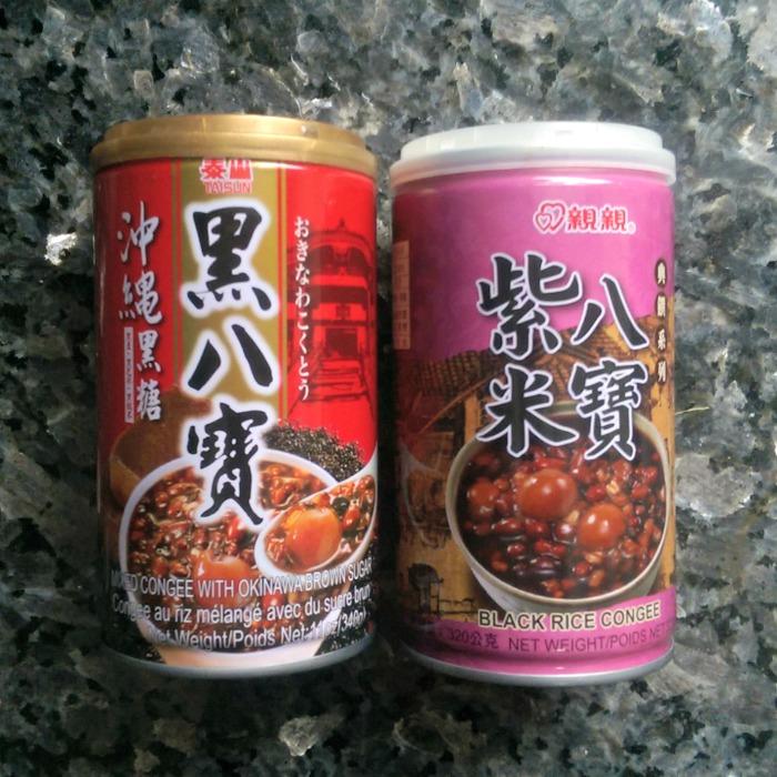 Ba Bao Zhou in cans