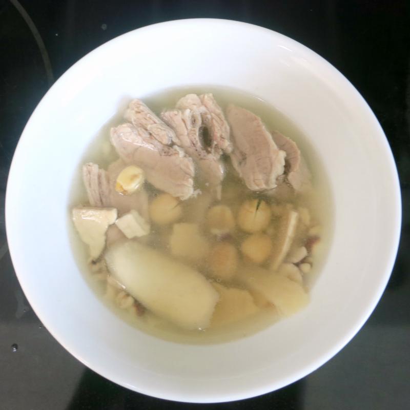 Si Shen Tang with pork