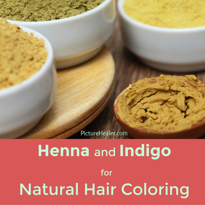 Henna And Indigo Natural Hair Coloring Picture Healer Art And