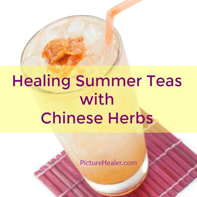 healing summer teas