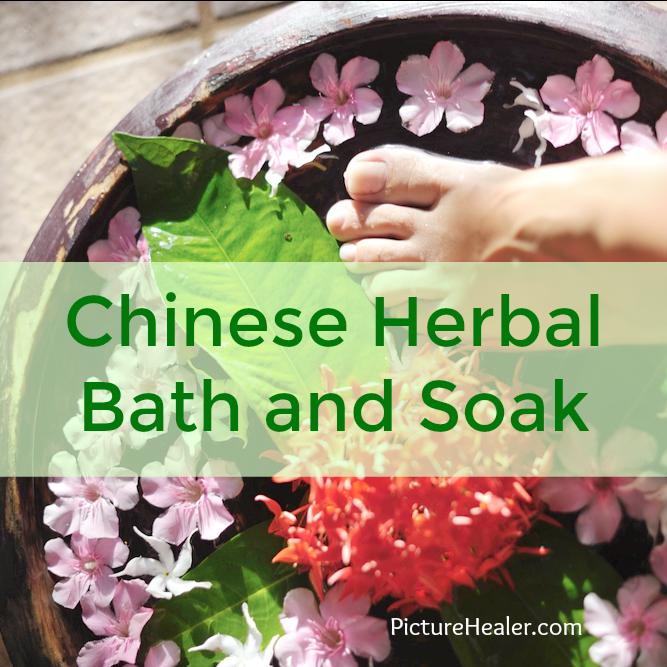 chinese herbal bath and soak
