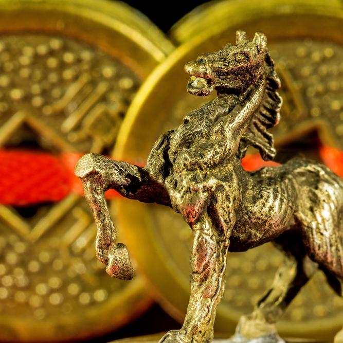 bronze horse feng shui gui ren