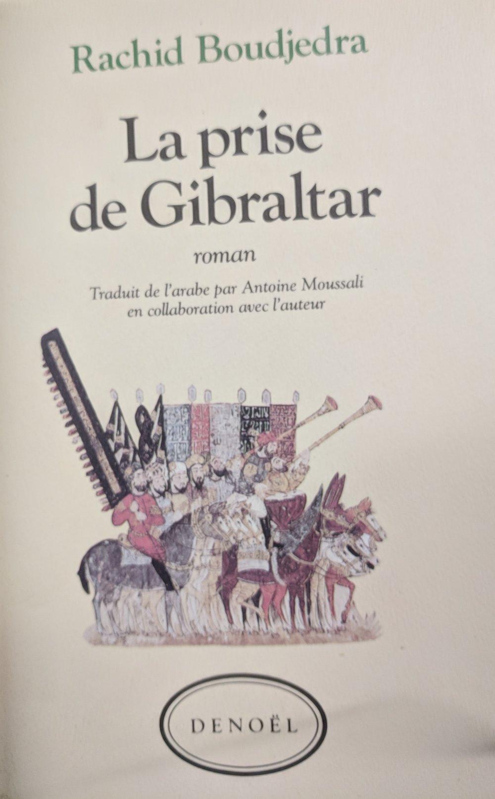 Rachid Boudjedra, traduit de l'arabe par Antoine Moussali en collaboration avec l'auteur (Paris: Denoël, 1987)