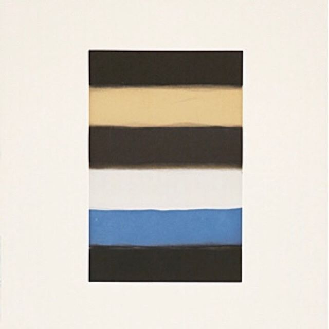 Sean Scully for the last days of winter. #seanscully #abeautifulthing