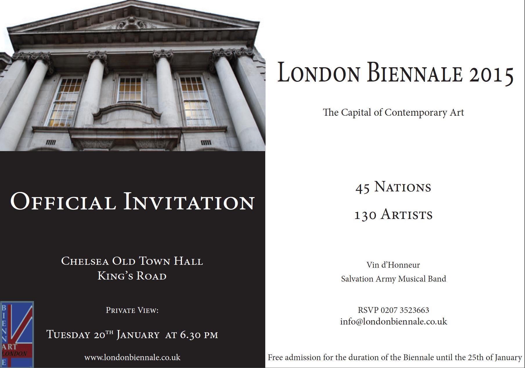 London Biennale 2015