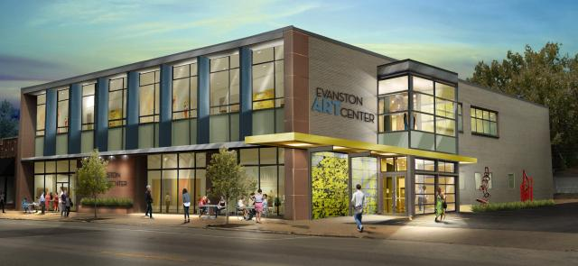 Evanston Art Centre is going to have a new home.