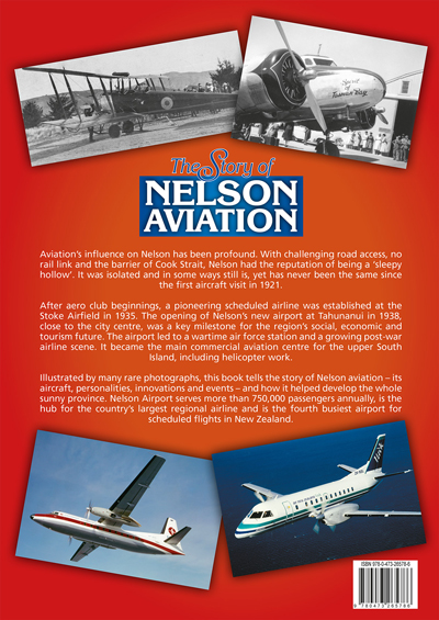 Nelson Aviation Book Back Cover
