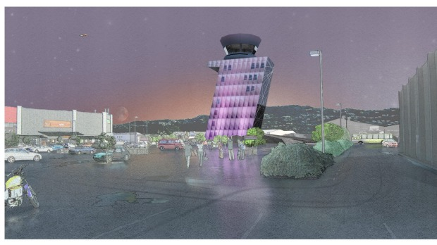 Nelson Airport - Wellington control tower