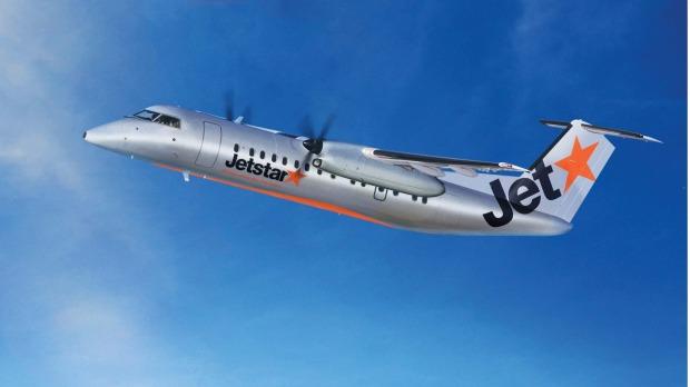 Jetstar plane image