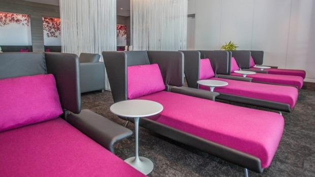 Air NZ lounge chairs