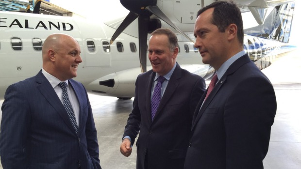 Air NZ Christopher & John Key