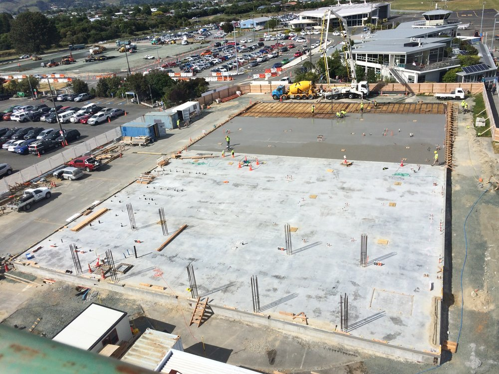 Nov 24. View from the top of the Airways control tower build.