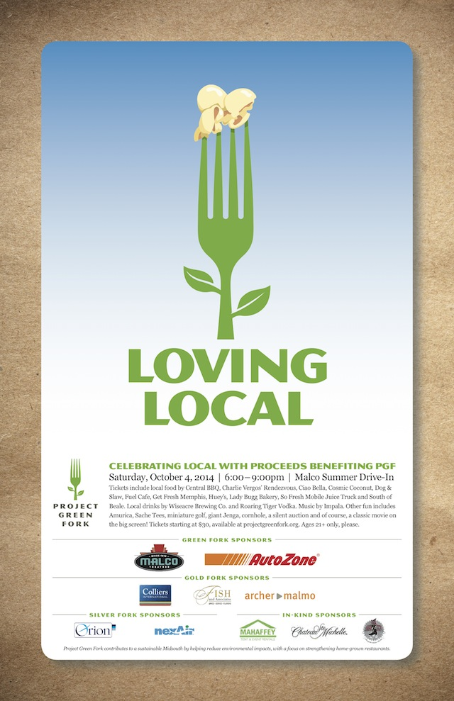Loving Local 2014 poster