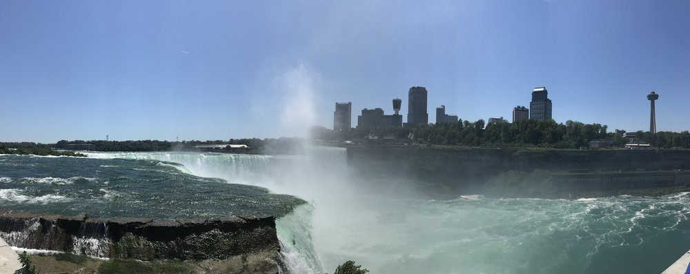 Horseshoe Falls as seen from the US side