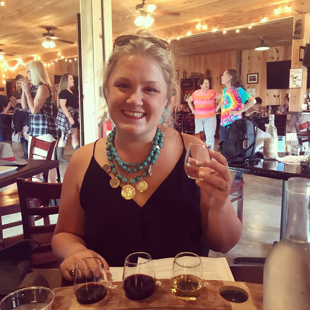 Here I am enjoying a flight of wines and a cheese plate (and some line dancing) about 6 hours before I would finally drive myself to the ER. Cheese turned out to be a bad trigger for me. I can connect the eating of cheese to several attacks.
