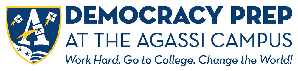 Democracy Prep at the Agassi Campus Logo