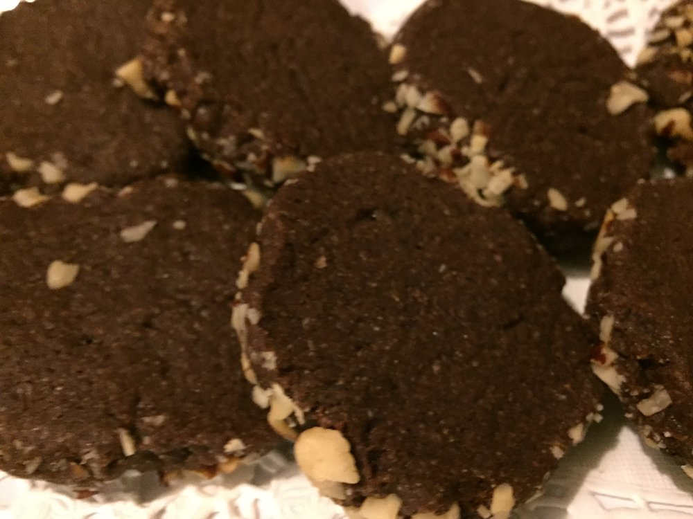 Chocolate Espresso Shortbread Cookie