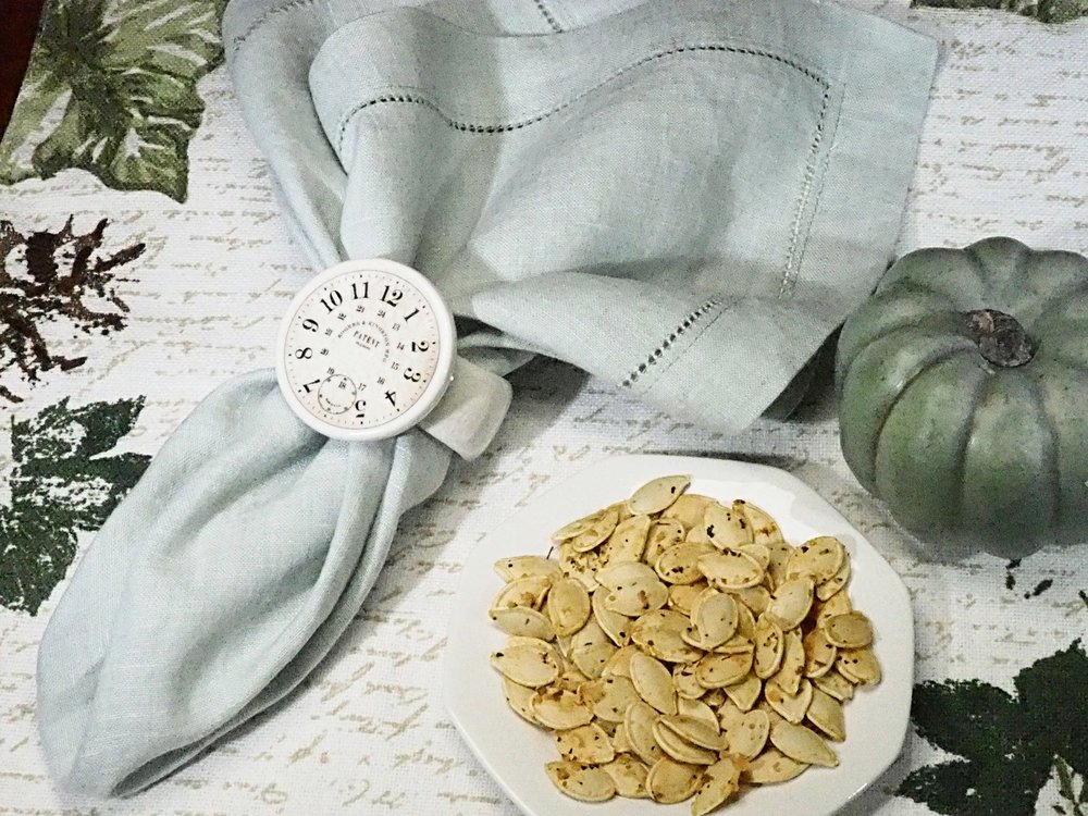 Pizza Pumpkin Seeds
