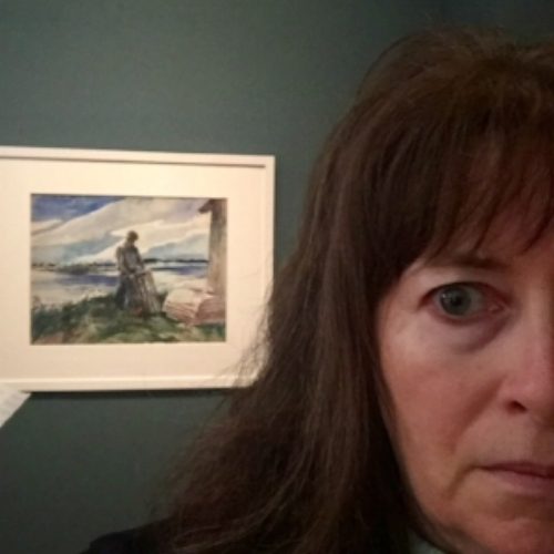 Oh yeah. That's me. Crying at the Andrew Wyeth exhibit.