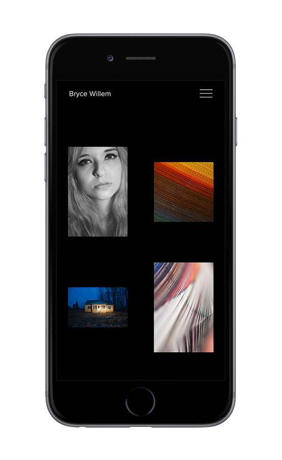 XYZ Design | Bryce Willem Artistry Mobile Device Display 3