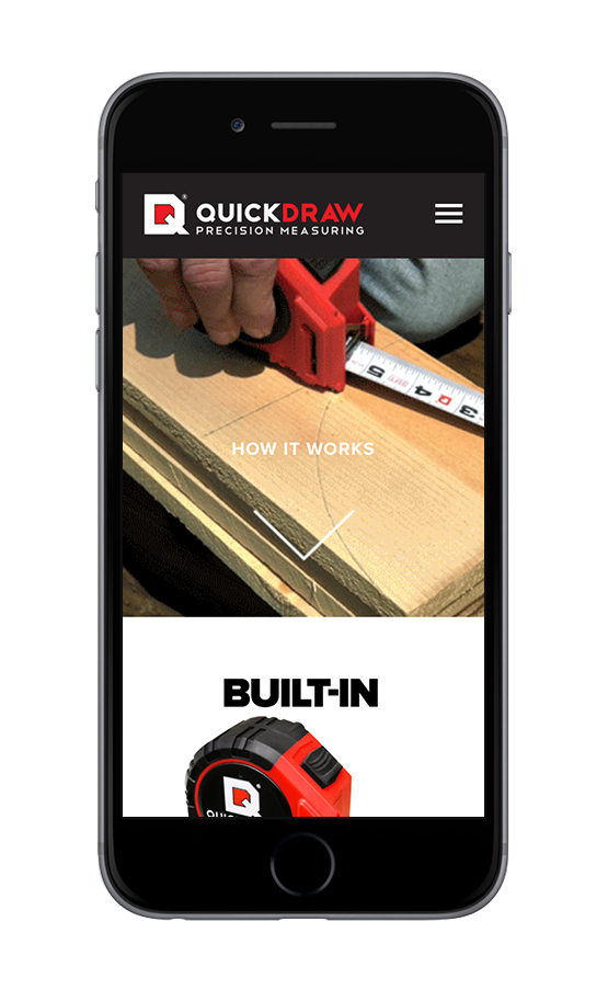 XYZ Design | QuickDraw Mobile Device View 1