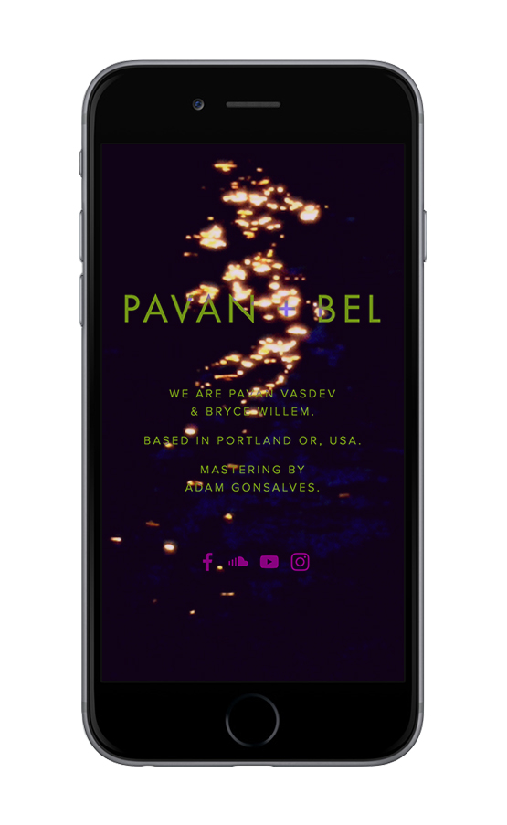 XYZ Design | Pavan + Bel Mobile Device View 2