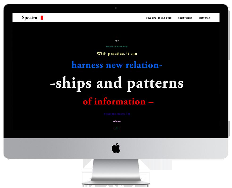 XYZ Design | Spectra Magazine - Desktop Thumbnail