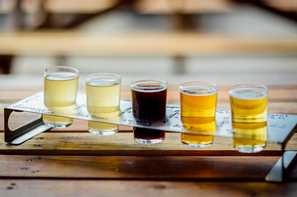 Beer Flights at Colorado Plus Morrison CO