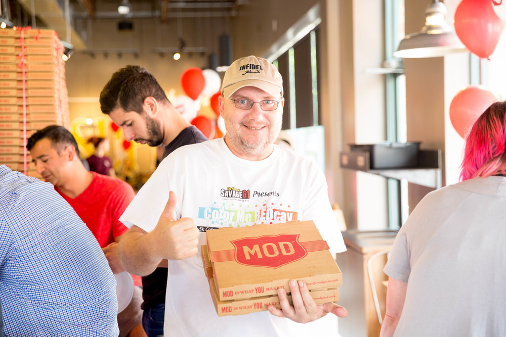 MOD Pizza Reston VA Ribbon Cutting Ceremony