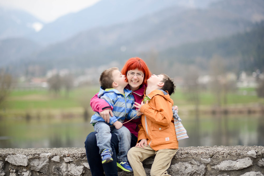 Lake Preddvor Children's Lifestyle Session Slovenia