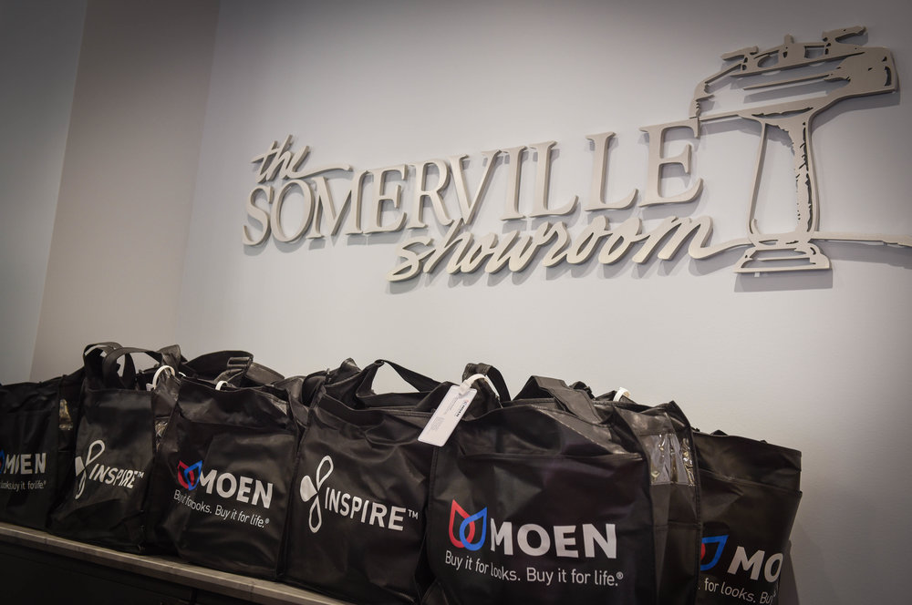 Moen Sommerville Showroom Red Carpet Event Sterling VA