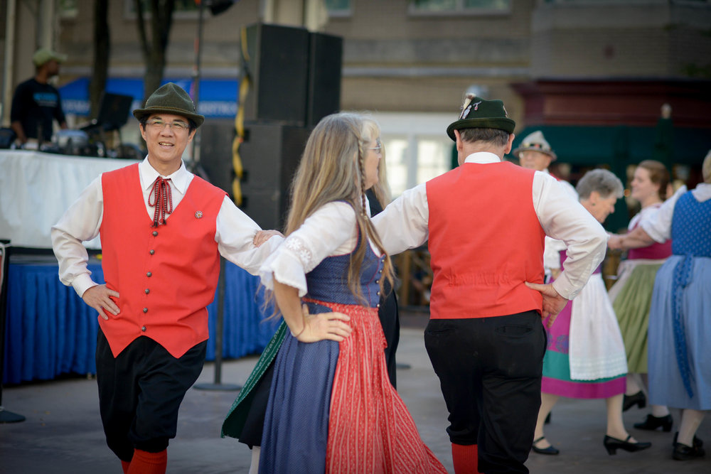 Alpine Dancers at Oktoberfest Reston Town Center