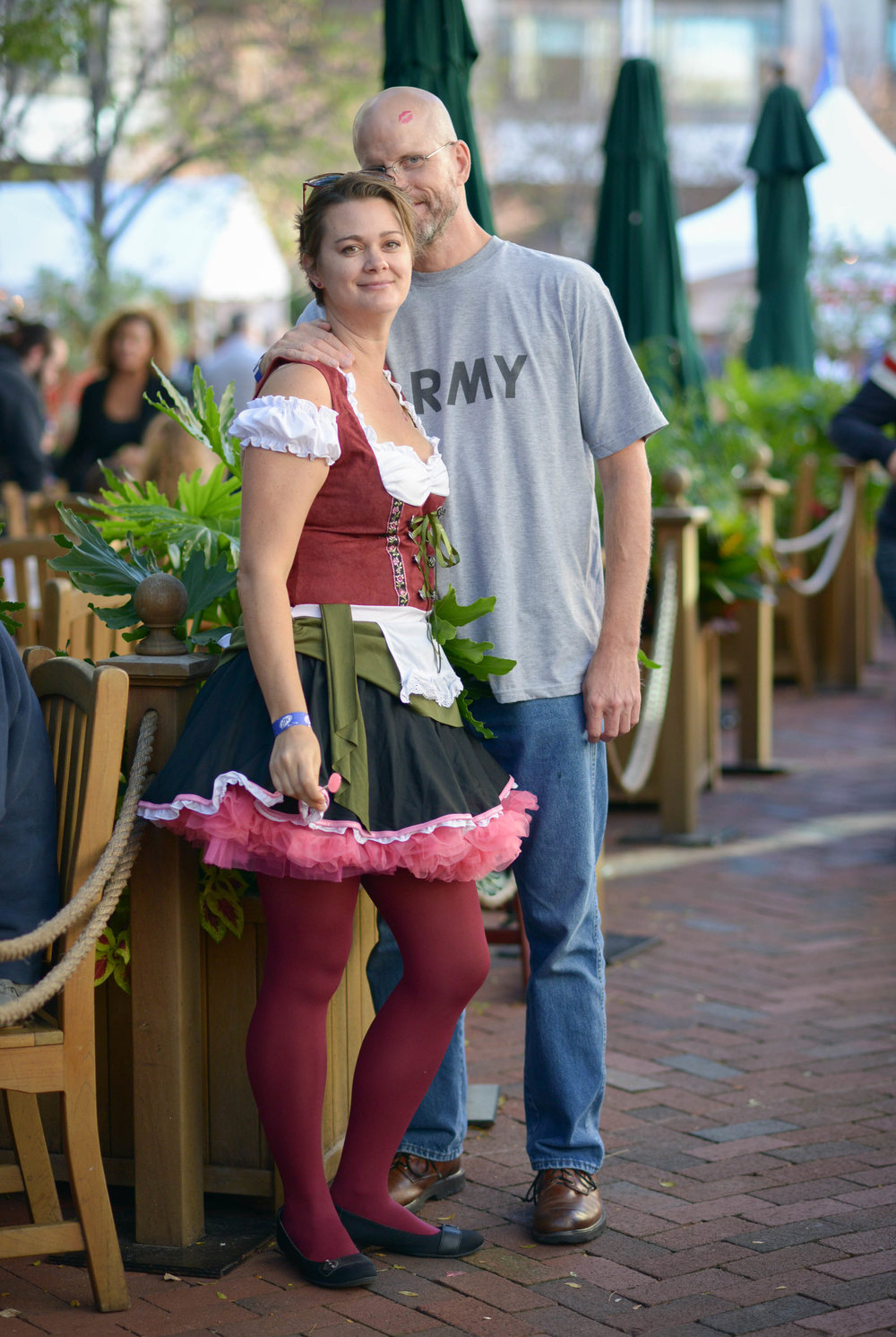 German outfits at Oktoberfest Reston Town Center