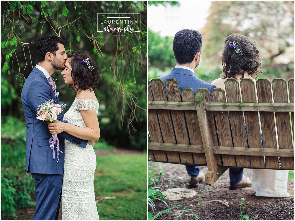 Rustic Bride and Groom Portraits Bahai Wedding Briar Patch Bed and Breakfast