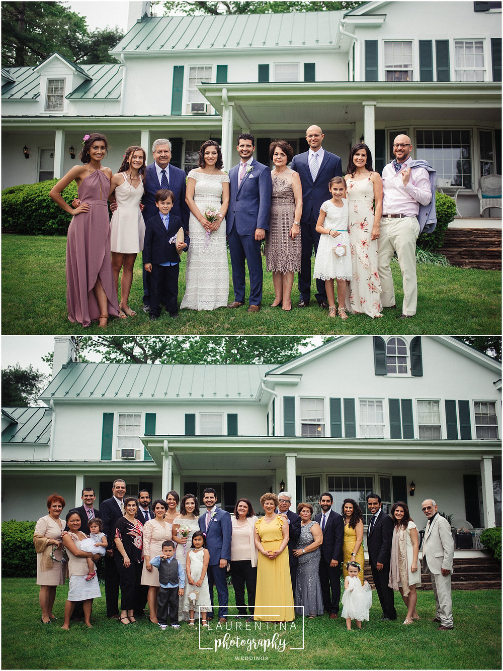 Family Portraits Bahai Wedding Briar Patch Bed and Breakfast
