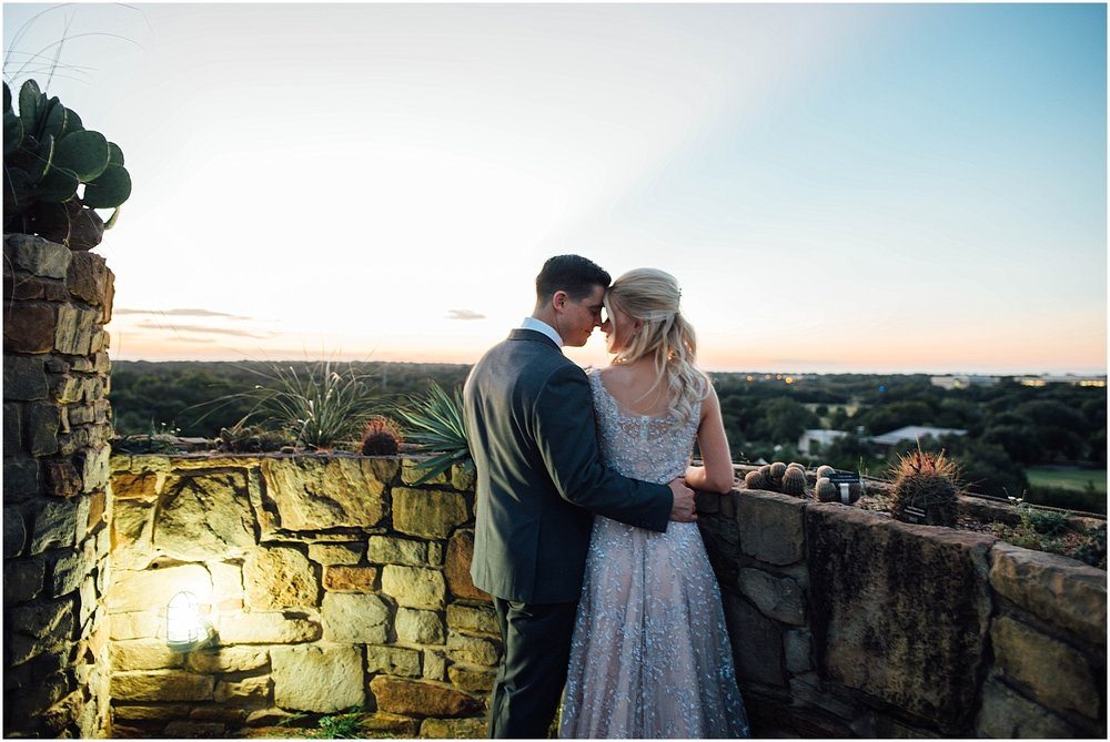Destination Wedding Portrait at Lady Bird Johnson Wildflower Center Austin Texas Wedding