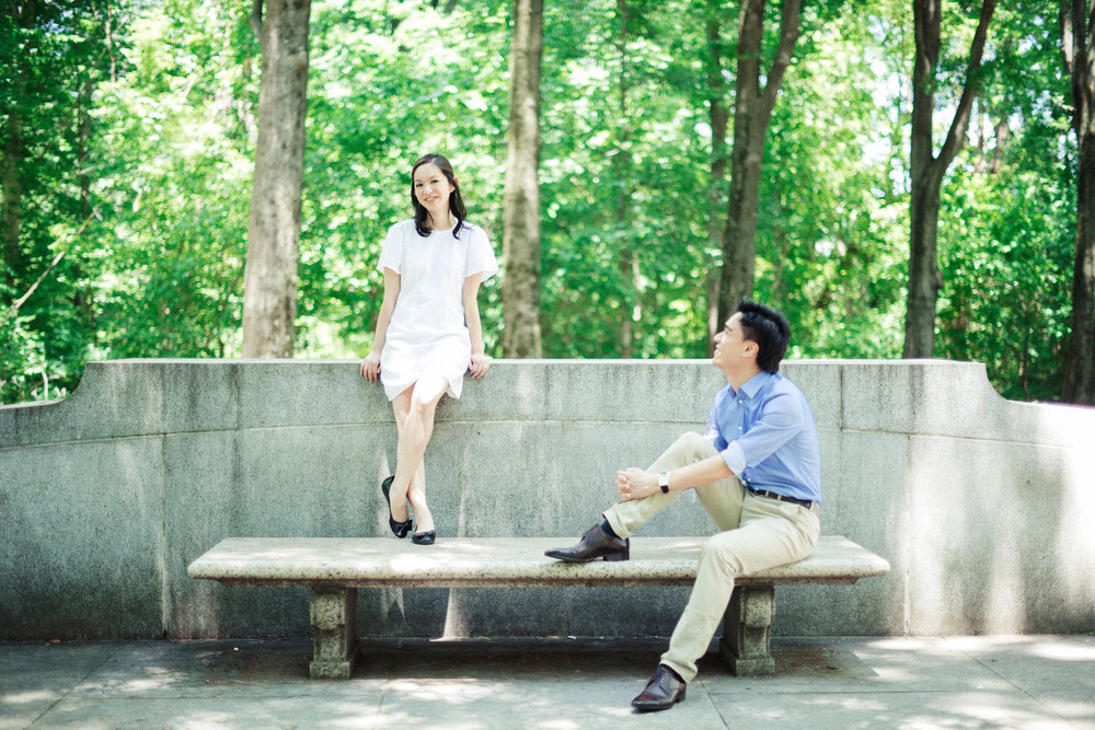Teddy Roosevelt Island engagement session