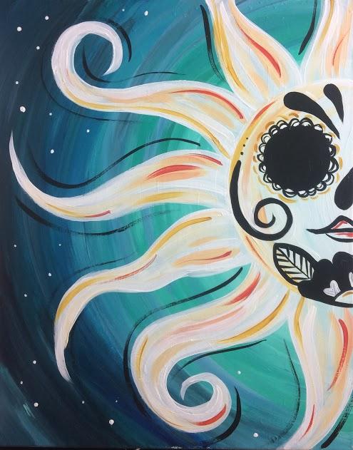 Sugar Skull Sun
