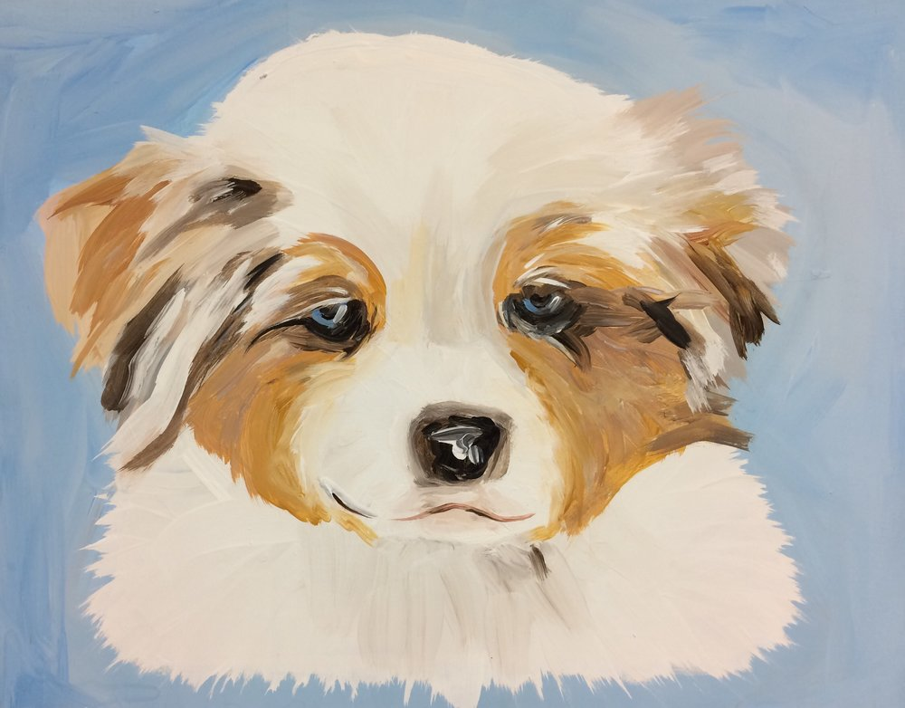 Paint Your Pet Puppy