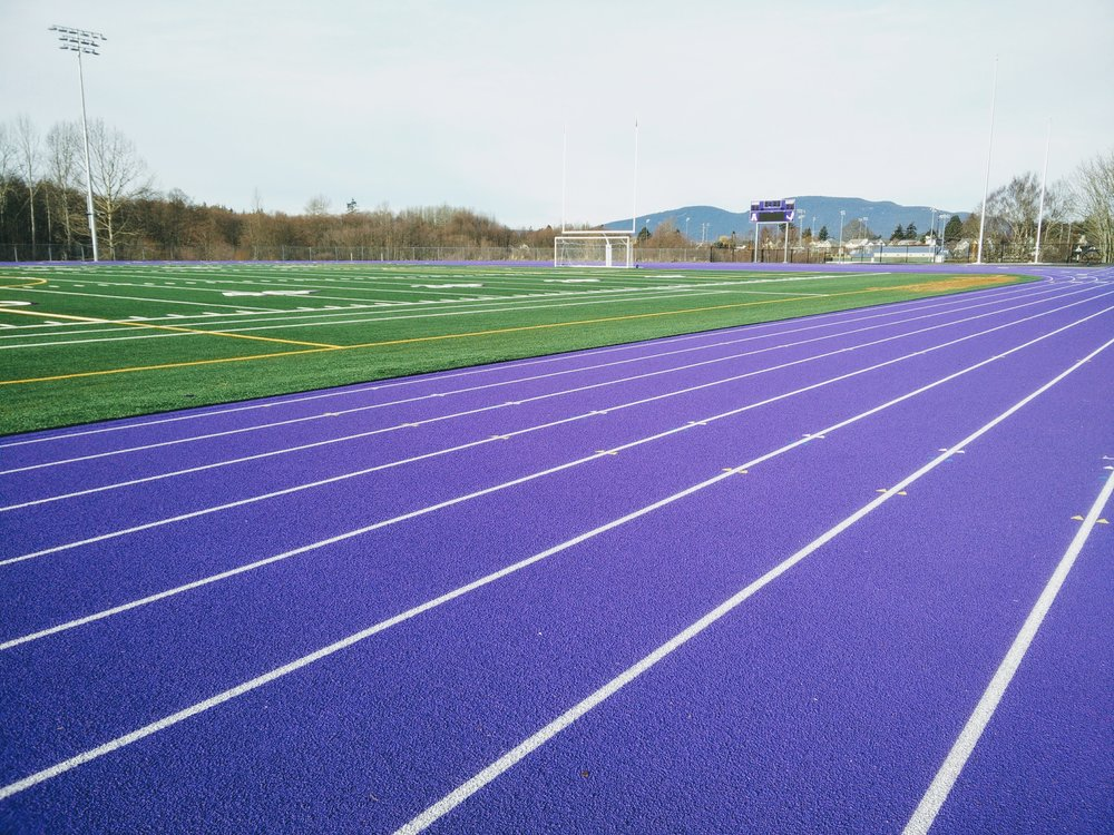 The coolest purple track