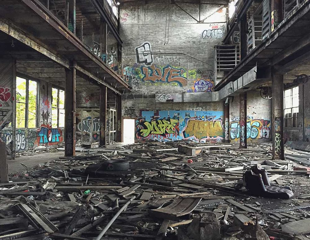 3rd place - Abandoned Building - Ted Tousman