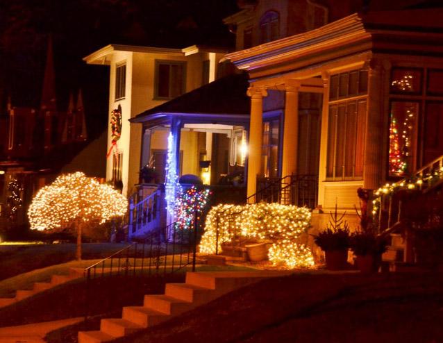 Neighborhood Holiday Lights - Steve Morse