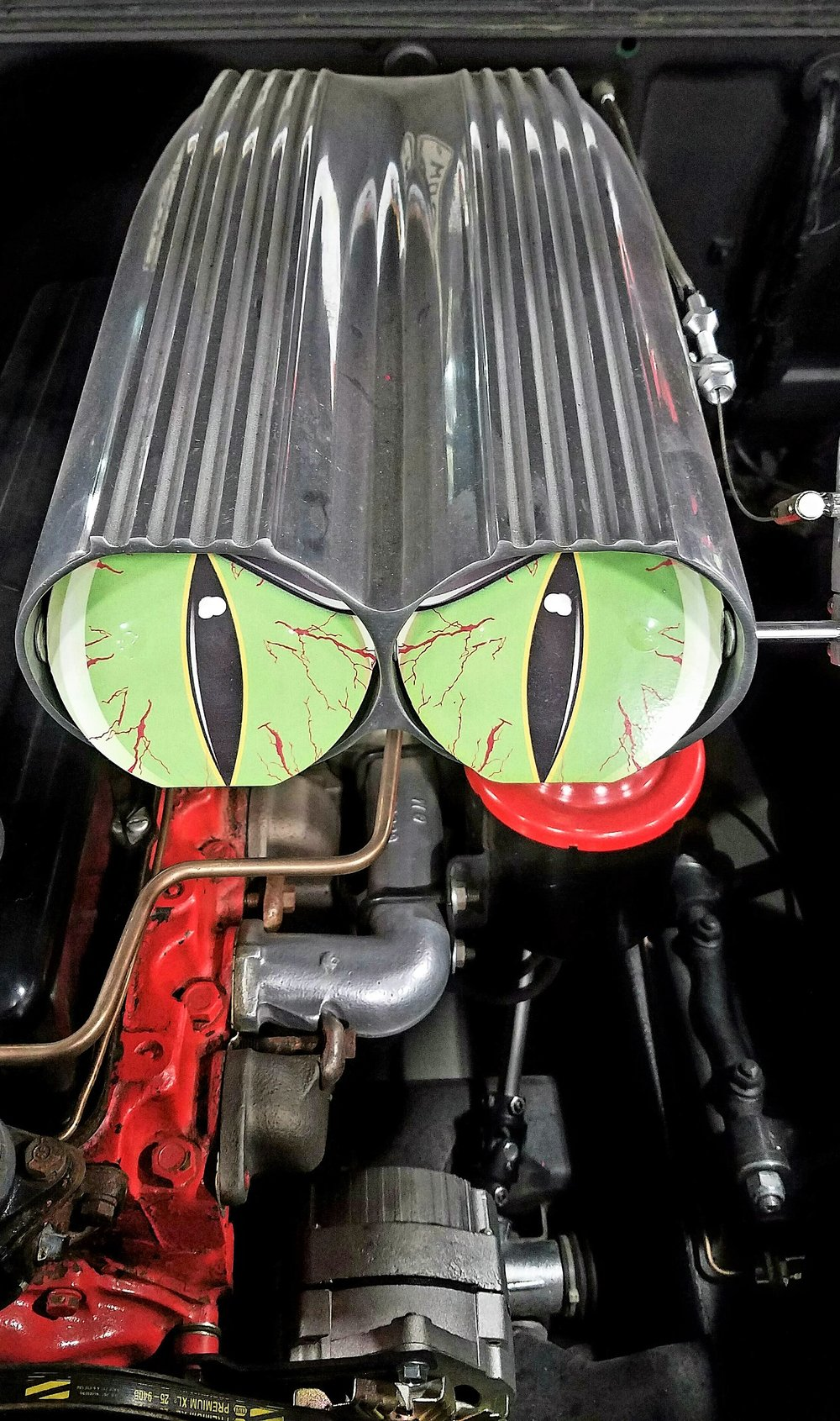 Car Engine with Lazik - Carole Kincaid