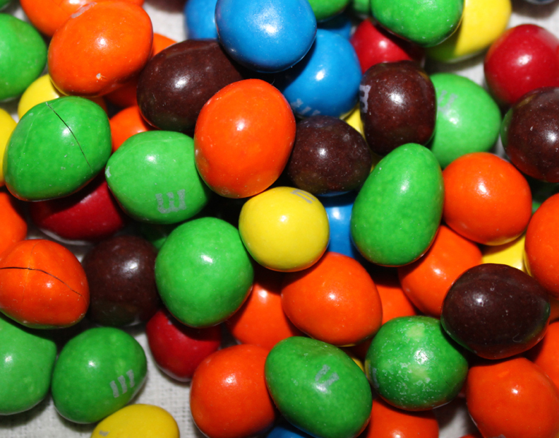 M&M Chocolate Covered Peanuts - Brian Chart