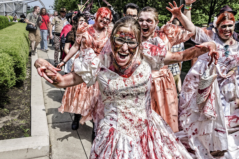 2nd place - Bridal Zombies - Gary Peel